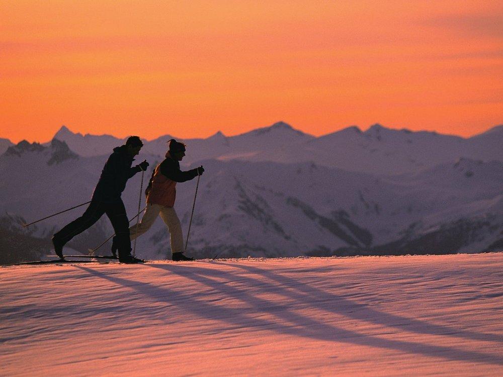 Ski touring saves you a lift pass.  Photo: Ivair Goncalves