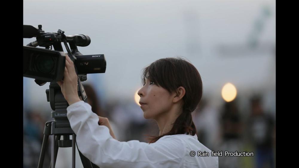 Director, Chiaki Kasai at shooting