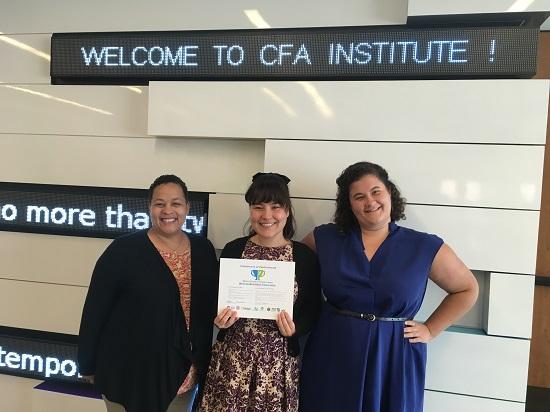 CFA Institute's Corporate Sustainability Team