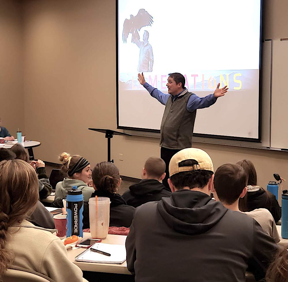 Perspectives Lesson 2 at John Brown University in Siloam Springs, AR