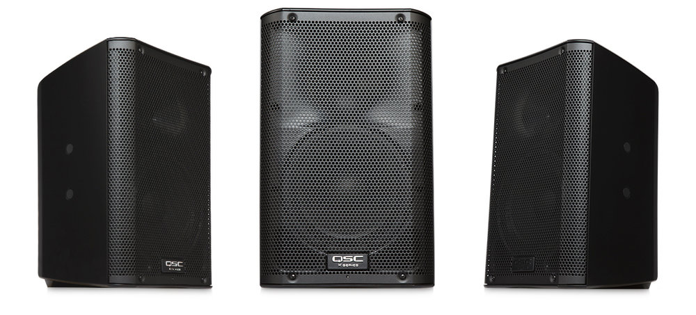 QSC K8 2-way powered speaker, 1000w - $75