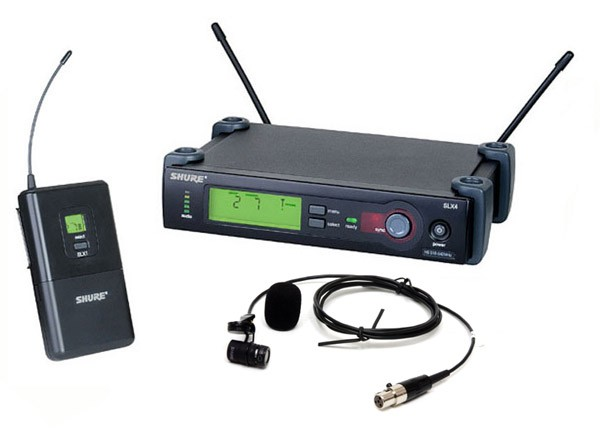 Shure Wireless Lavalier Microphone System - $45