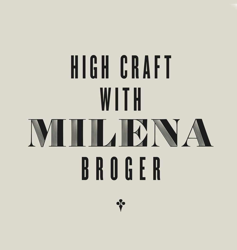 "High Craft with Milena Broger - ""The Alps"" von Makers BibleDezember 2018, Sebastian Berg"