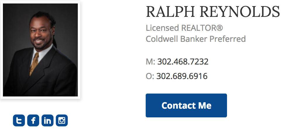 Ralph Reynolds of Coldwell Banker