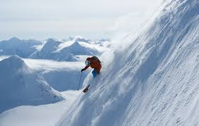 Ski the famous Chilkat Mountains