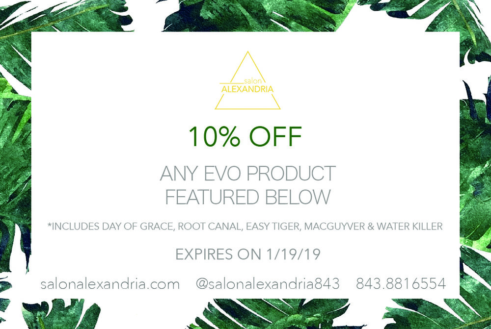 EVO Hair Products Coupon
