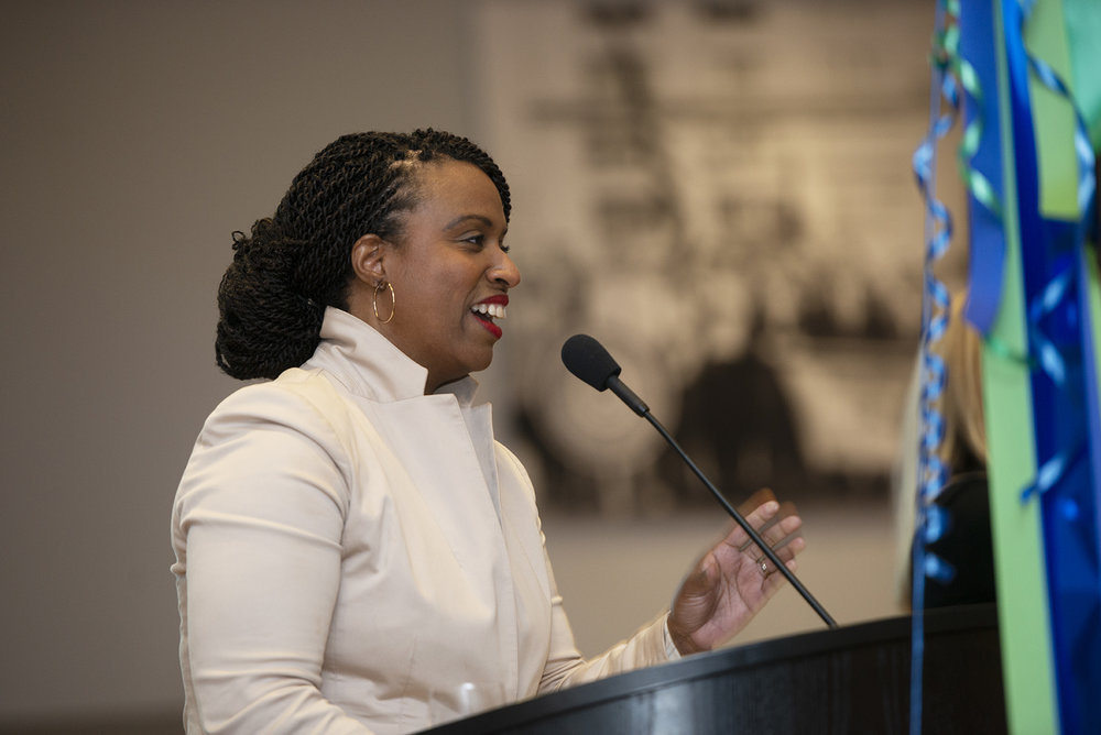Boston Councilor At Large Ayanna Pressely