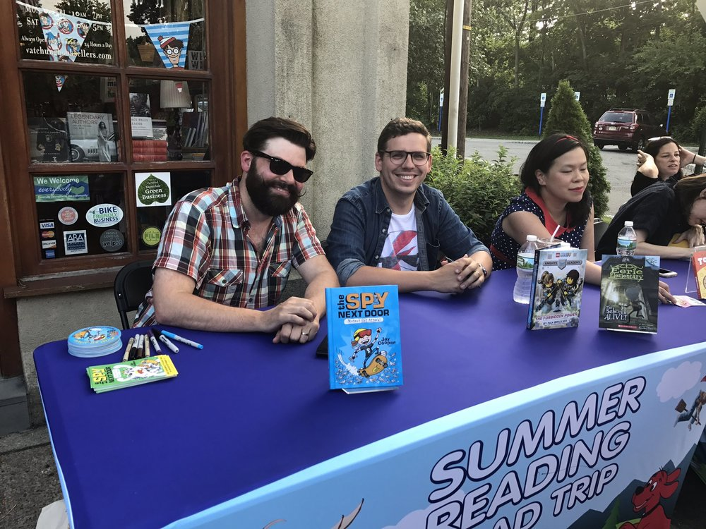 Scholastic Summer Reading Road Trip, Montclair, NJ