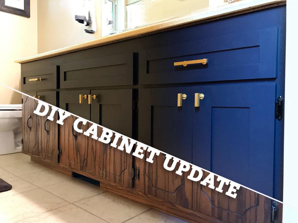 DIY Cabinet Update