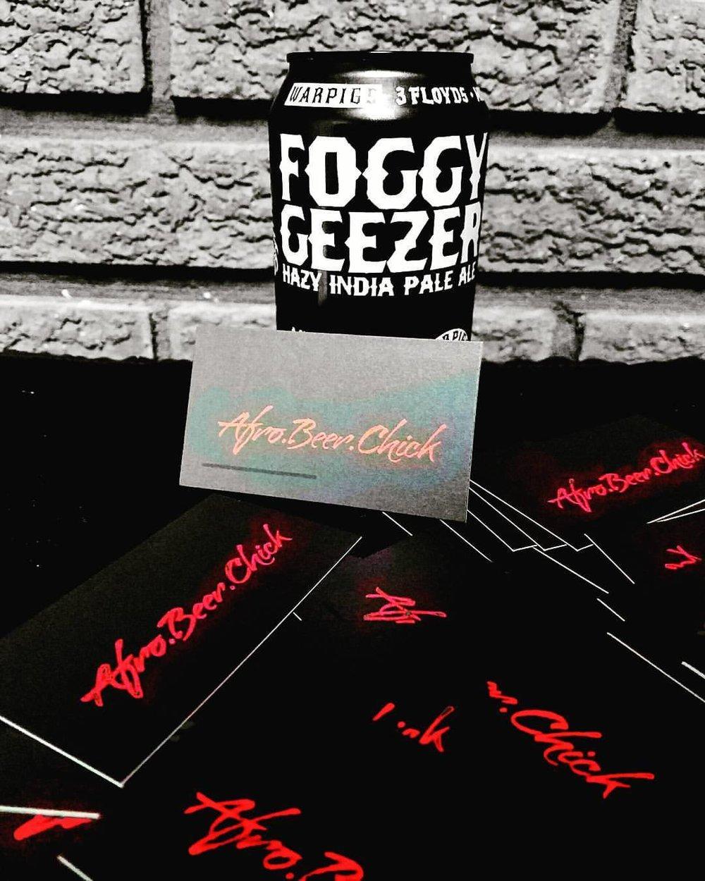 Mikkeller & 3 Floyds Collab - Foggy Geezer
