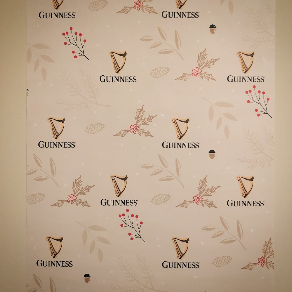 Guinness wall art