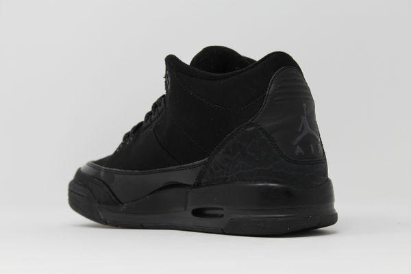 online store 84860 f7d42 Air Jordan 3 Retro GS Black Cat