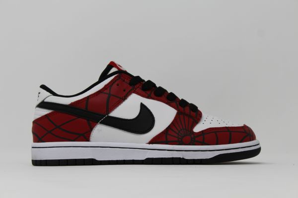 575a47349a14 Nike Dunk Low GS White Black Varsity Red — RAMPANT SOCIETY