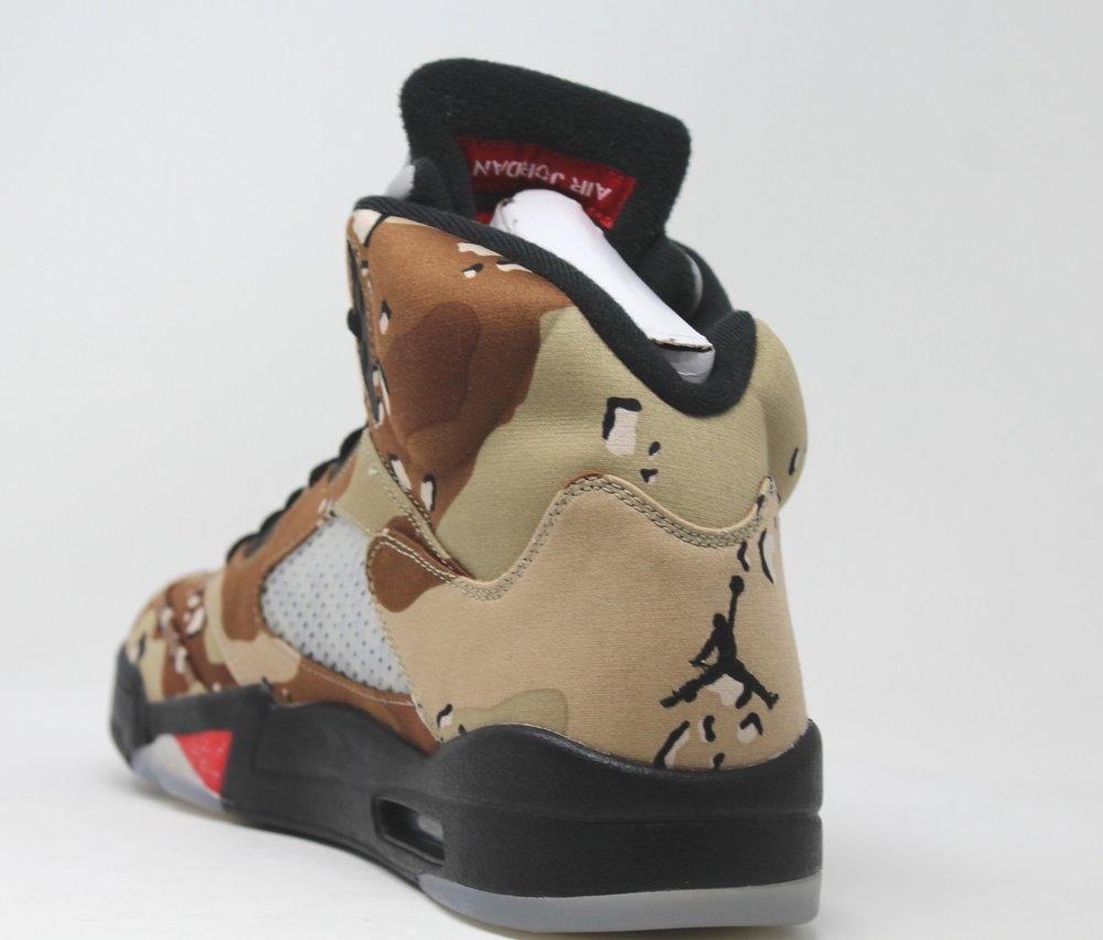 1bdabd726471 Air Jordan 5 Retro Supreme Camo — RAMPANT SOCIETY