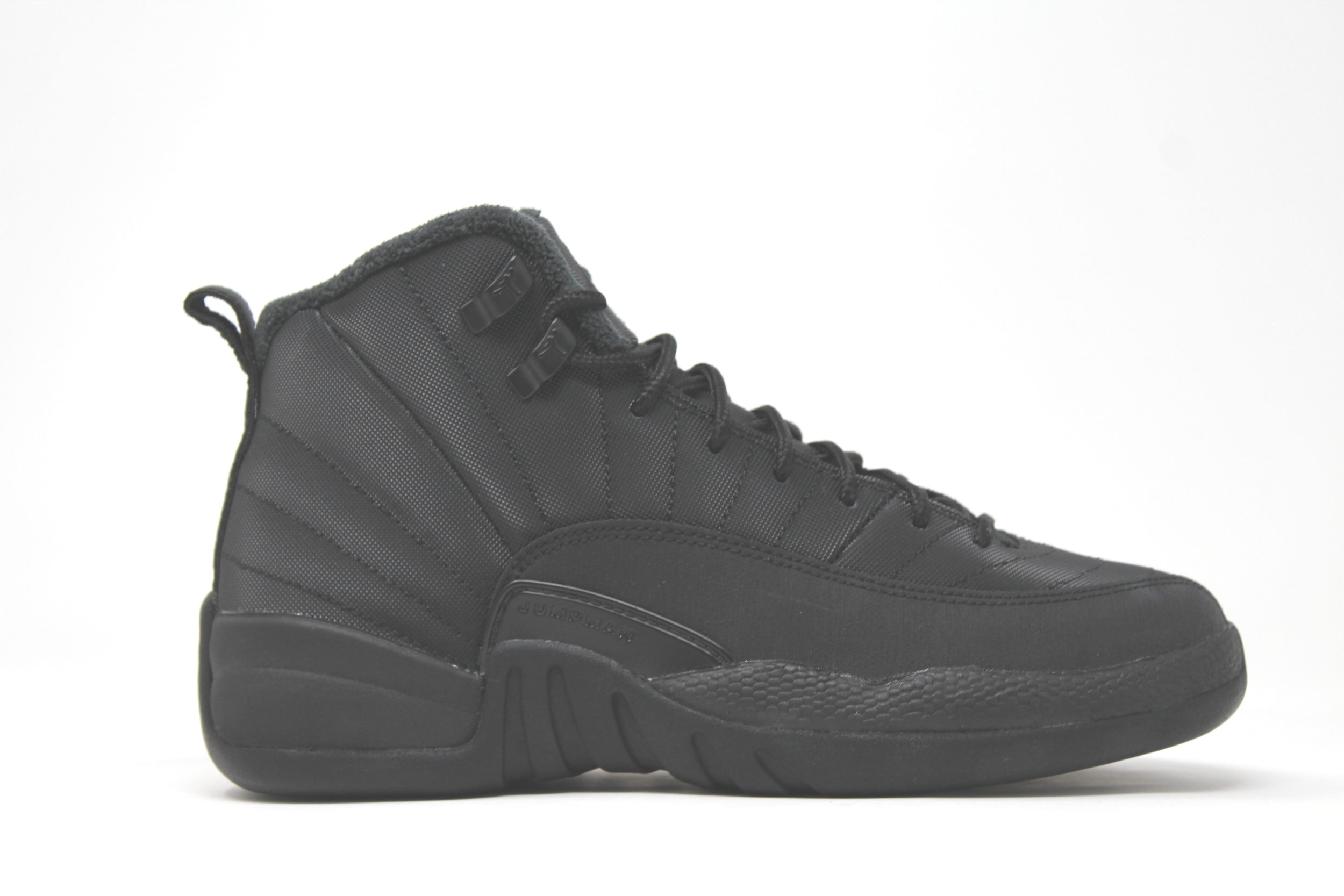 official photos 7b454 0bd88 Jordan 12 Retro GS Winter Black