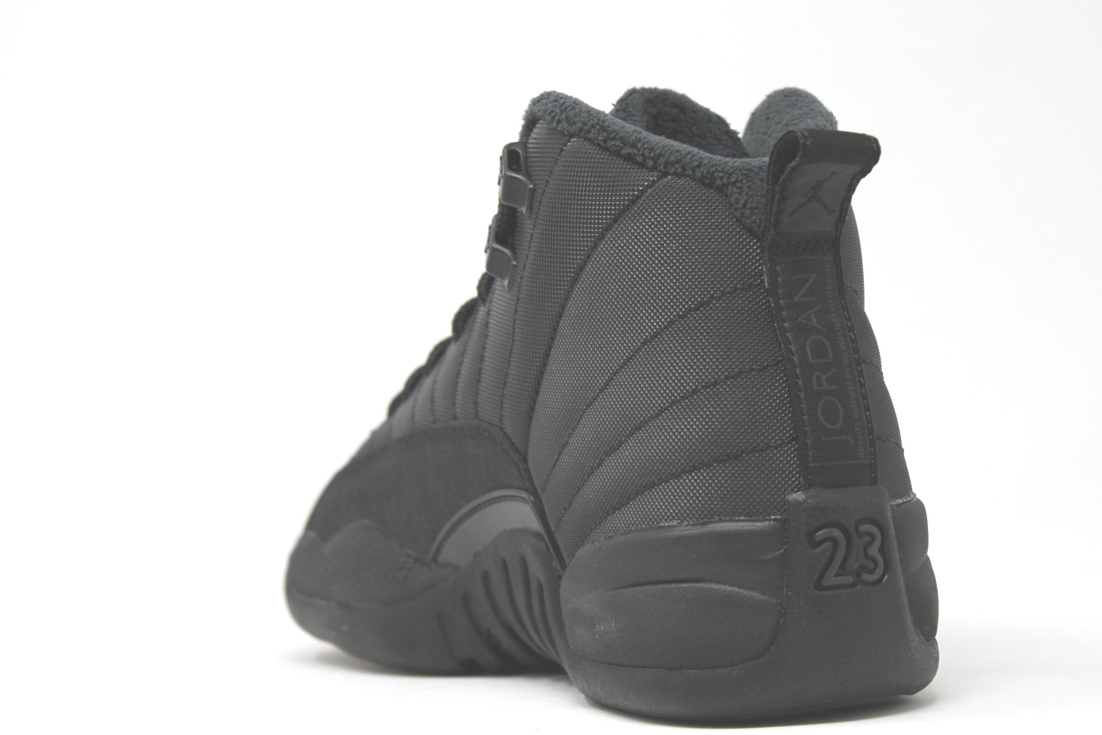 Jordan 12 Retro GS Winter Black — RAMPANT SOCIETY e4369d050
