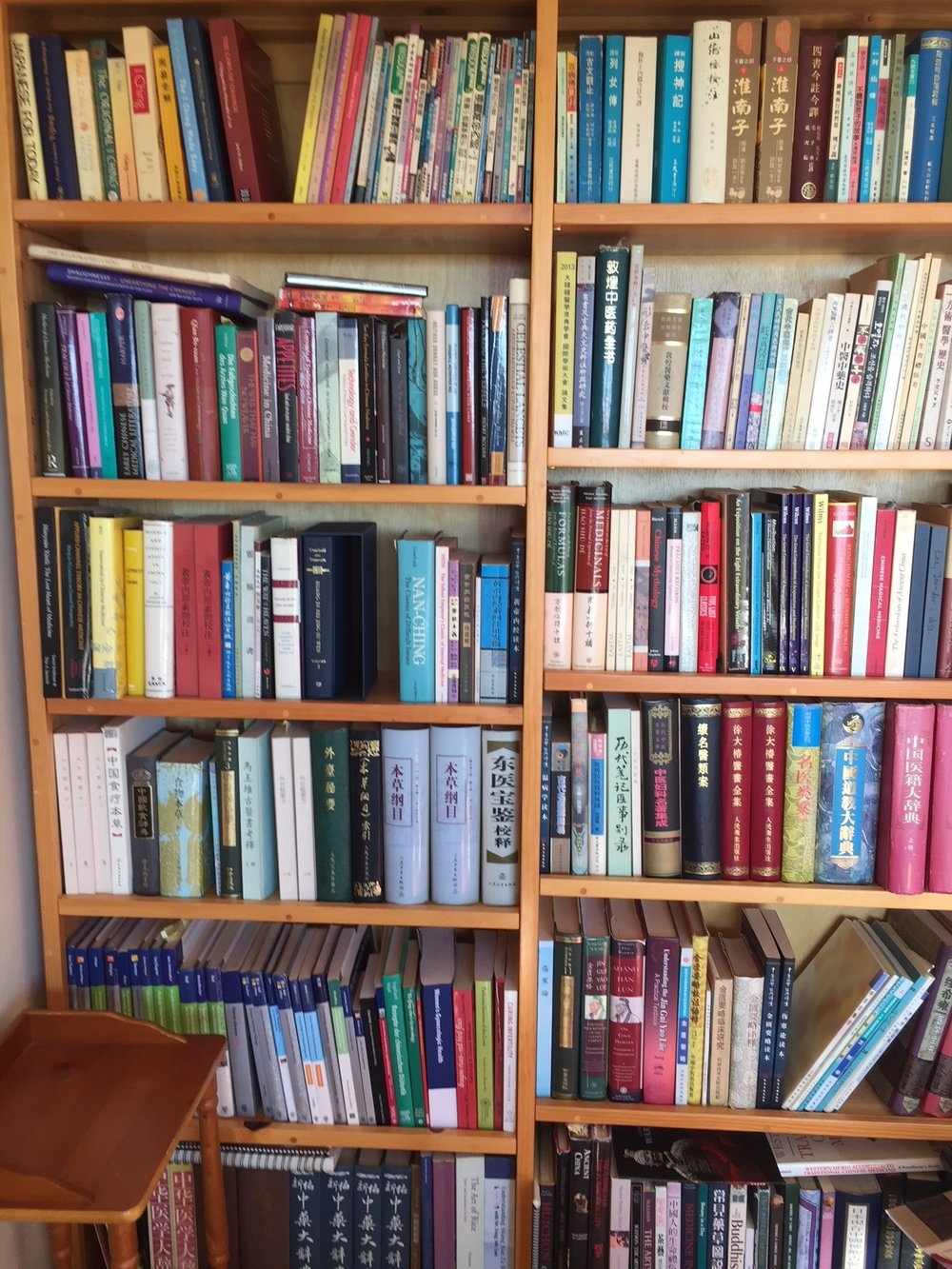 One of my favorite bookshelves