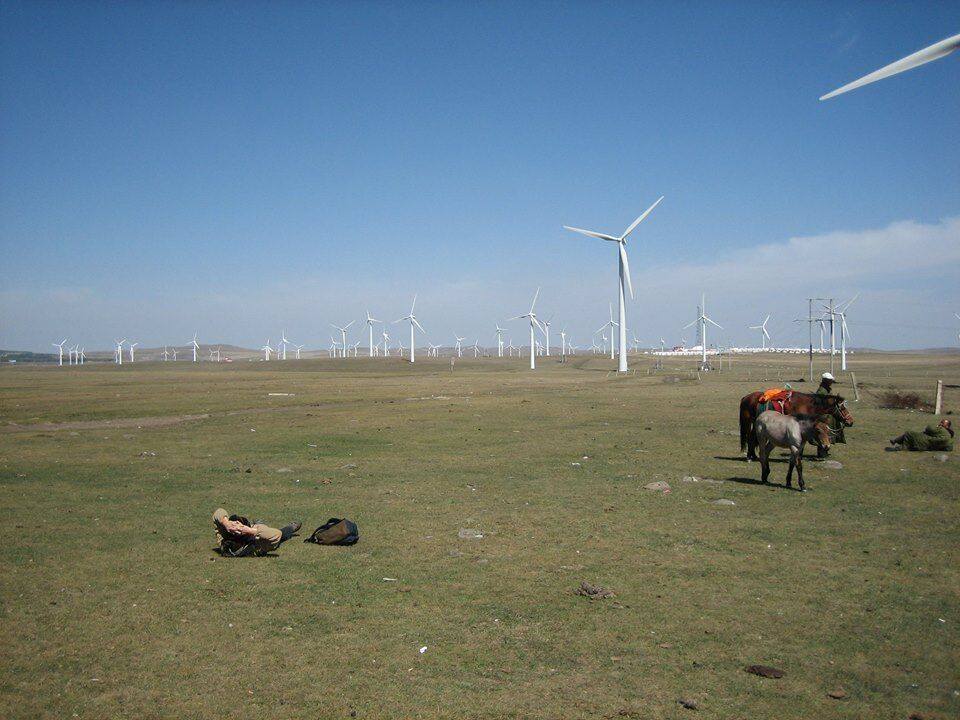 Mongolia, somewhere in 內蒙古.
