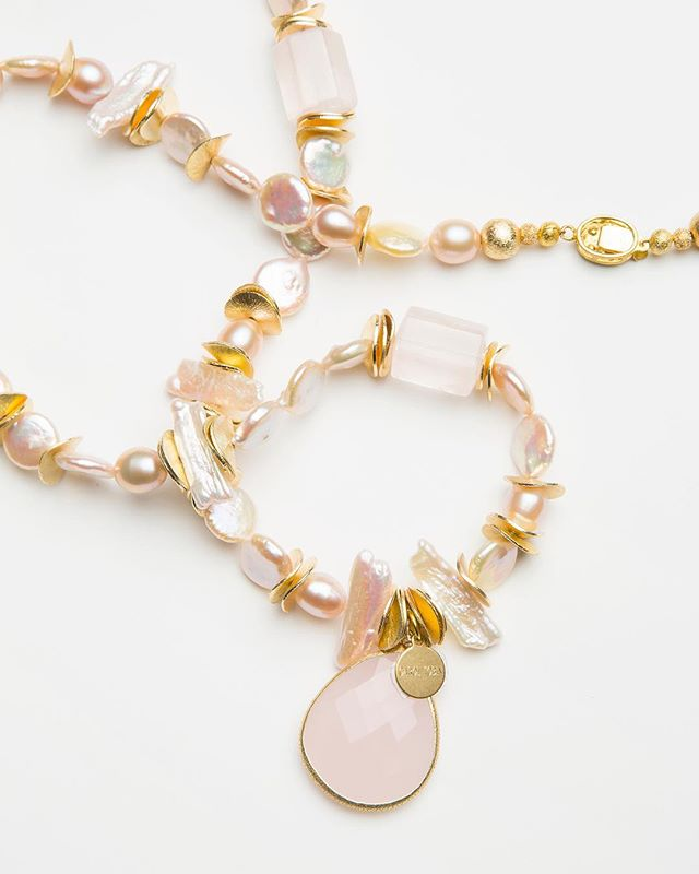A refined ode to polished and faceted rose Quartz 🔮
