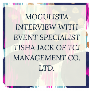 The Entrepreneurship Magic? - This was one of Tisha's first interviews when she started TCJ Management.Read how her passion influenced not just her but the Mogulista herself here.