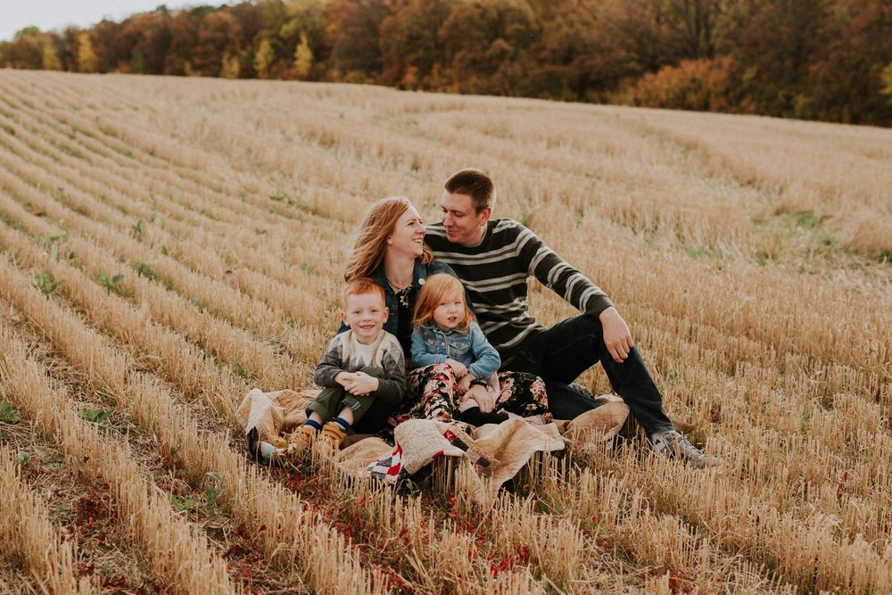 My little family crew // Photo by Kaya Glover Photography