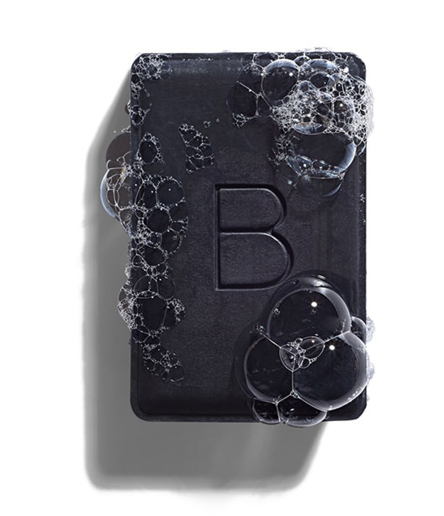 My favorite cleansing bar for my face!  Ideal for oily or blemish-prone skin, this detoxifying cleansing bar absorbs impurities in your skin without drying it out, resulting in a clearer, smoother, and brighter-looking complexion. Made with purifying Japanese binchotan charcoal, antioxidant-rich organic green tea, and hydrating organic coconut oil, the gentle formula can be used daily on your face and body.  Check it out here!  I use mine every evening and it lasts me at least three months!