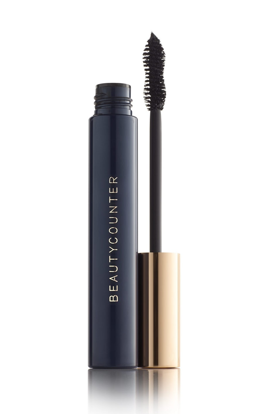 For a perfect, awake eye look!   Made with natural fibers, this advanced formula increases volume by 385%* to create fuller, more dramatic-looking lashes. The hourglass brush curls, separates, and plumps for high-drama glam–without clumping, flaking or smudging. Cleaner, plant-derived ingredients, like carnauba wax and rice bran wax, replace harmful emollients, while bataua oil helps soften lashes.