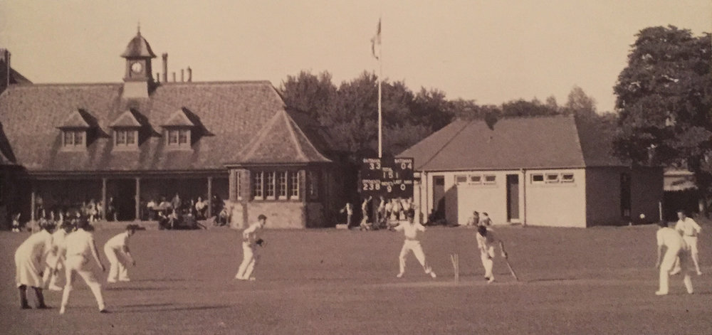 The Pavilion, New Field.