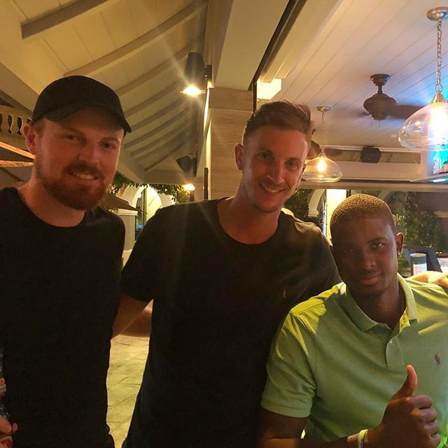 Congratulations @jaseholder98 on becoming the No.1 Test all-rounder and scoring a record-breaking 202* Good to see you in Barbados last year! Absolute legend! 🇧🇧 #iamabajan #barbados #banksbeer