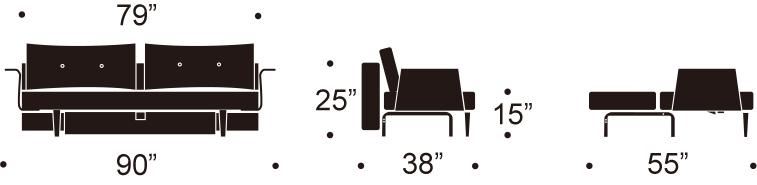 Recast Plus sofa with walnut arms.jpg