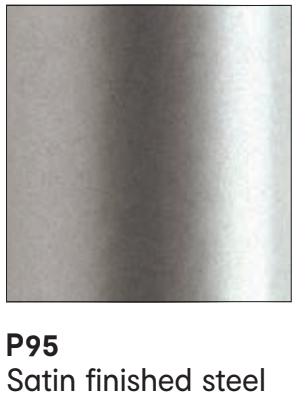 P95 Metal Satin Finished Steel - Calligaris - M Collection .png
