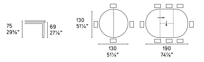 Tivoli Table Dimensions - Calligaris - M Collection.png