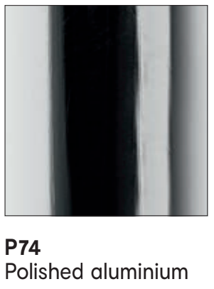 P74 Metal Polished Aluminium - Calligaris - M Collection .png