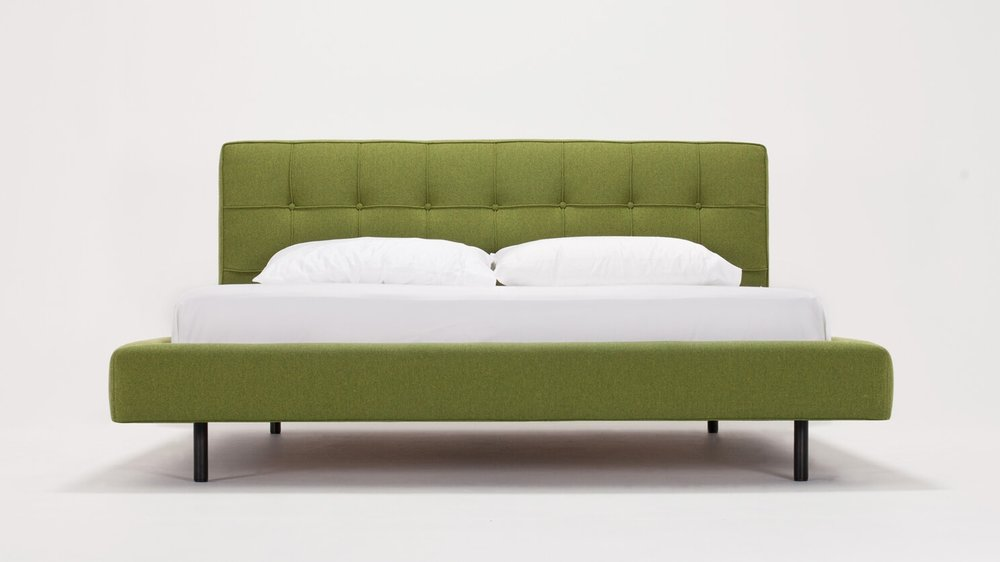 Winston Bed - Fabric - Low Headboard (high available in fabric)