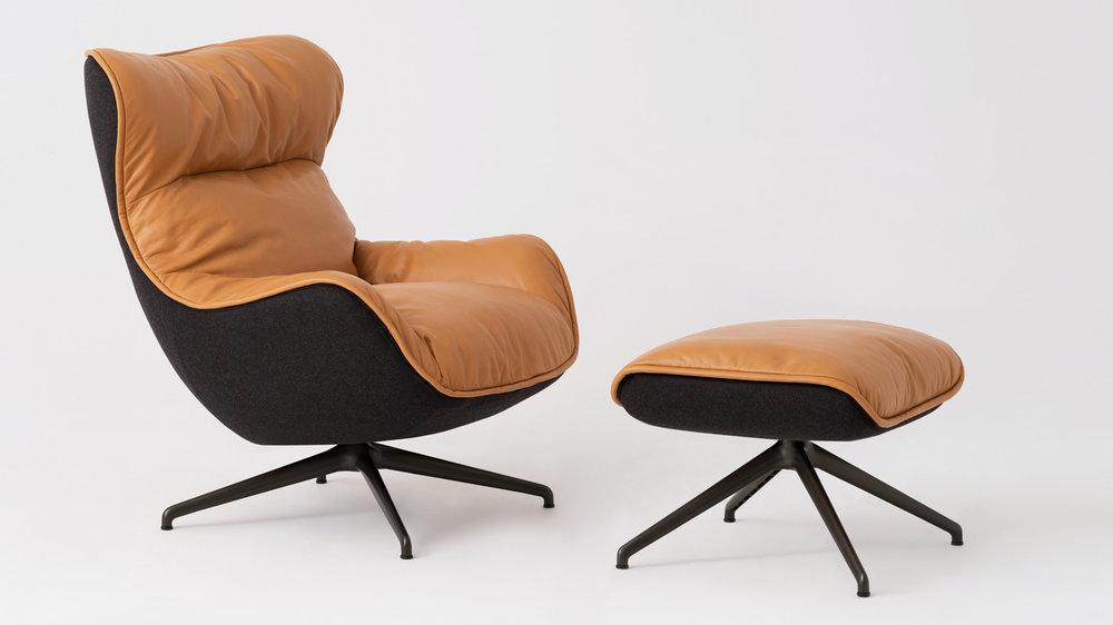 Arie Chair & Ottoman