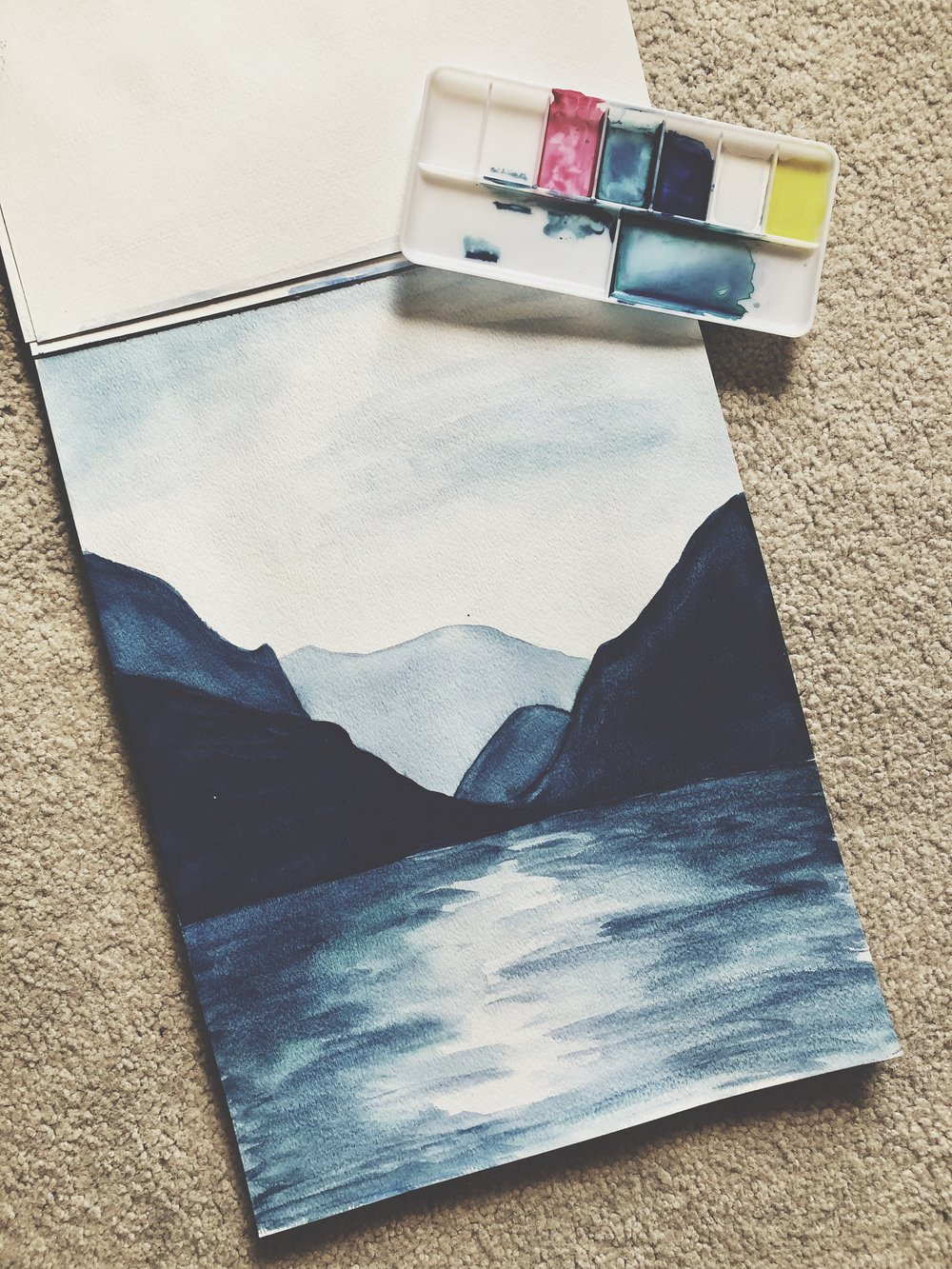 Linsey Marchant Watercolor