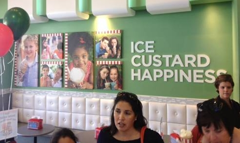 Rita's Water Ice - Avi's photographs were a part of a nationwide campaign to a splash of the Rita's experience to the walls of their new stores.