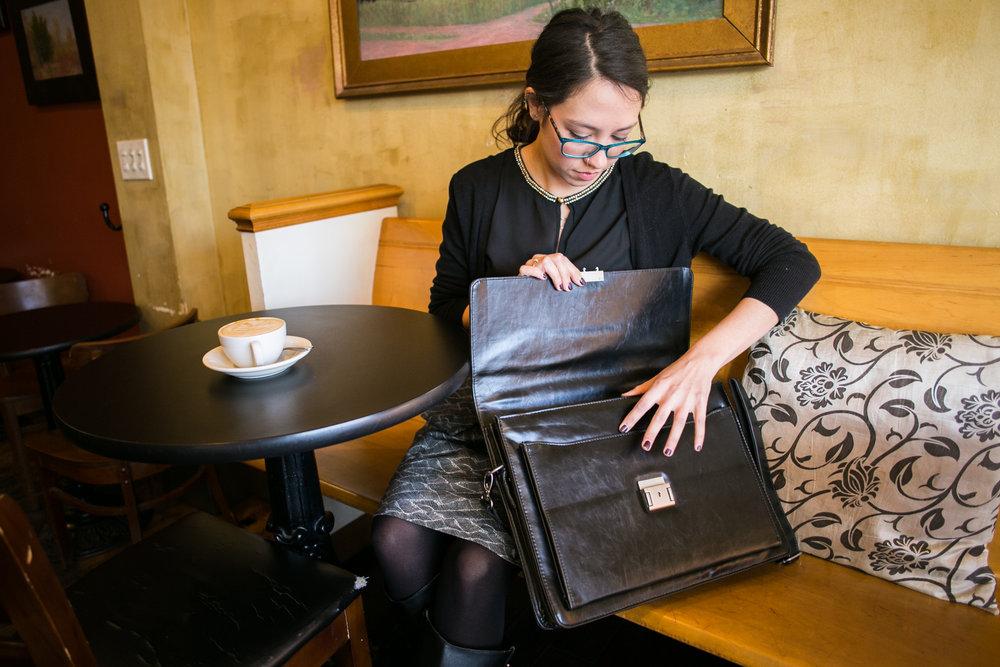 VeganWear by Avi Fox Photography Vegan Leather Briefcase and Laptop Case-3.jpg