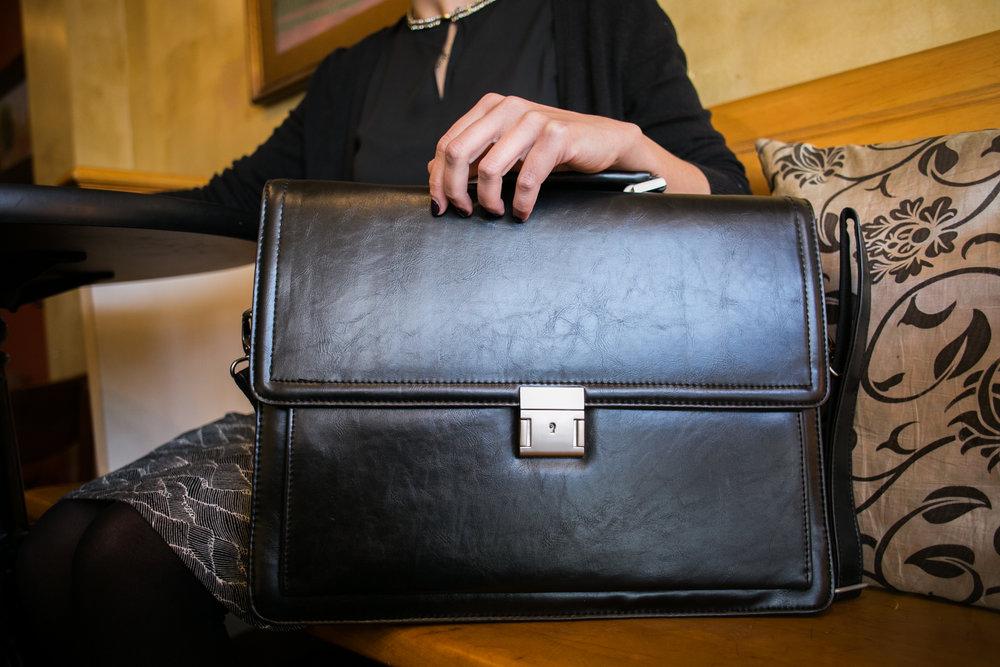 VeganWear by Avi Fox Photography Vegan Leather Briefcase and Laptop Case-5.jpg