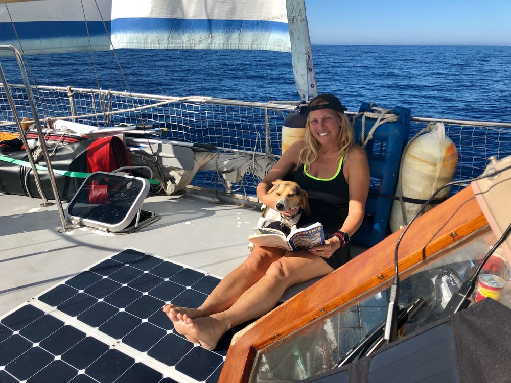 - CLICK HERE TO READ MICHELLE'S LOGBOOK ENTRY