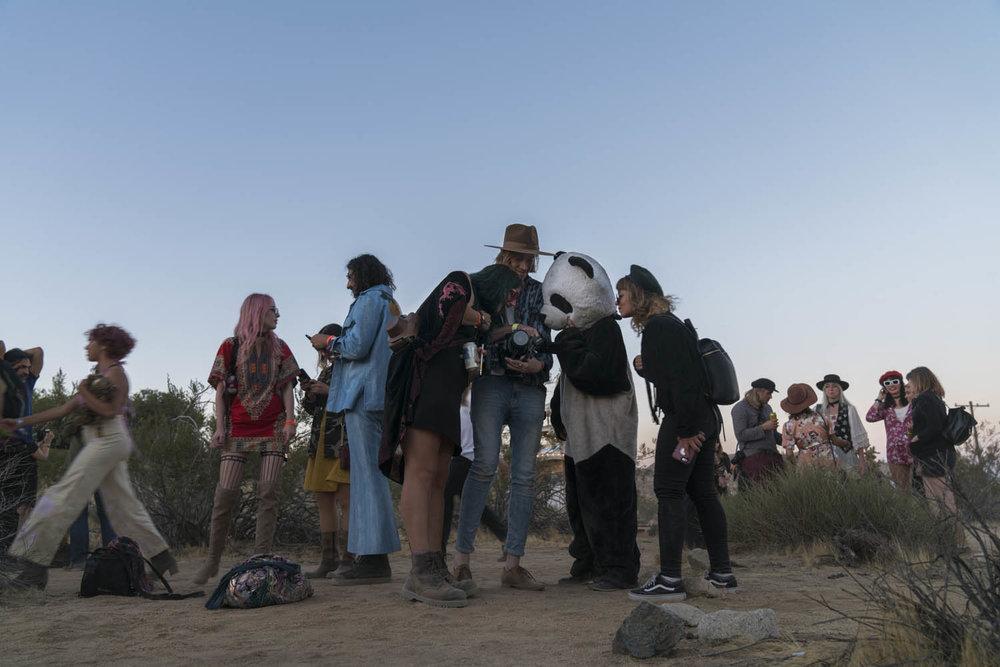 Desert Daze, music and art festival - Joshua Tree, California