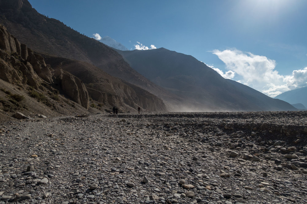 Entering The Mustang Valley