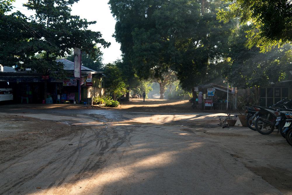 Crossroads, Bagan, Myanmar