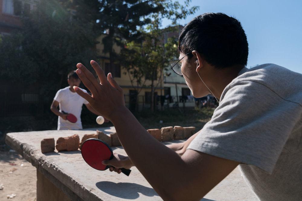 ping pong-  kathmandu