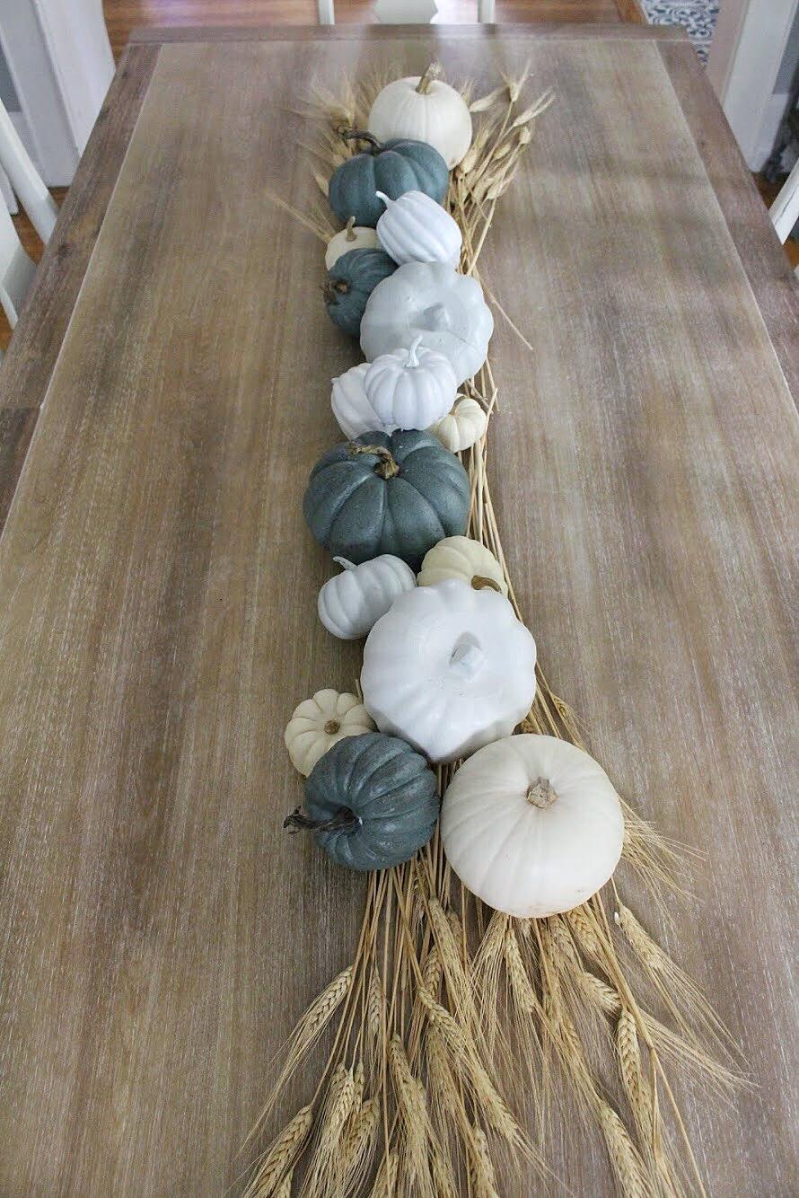 Pumpkin tablescape