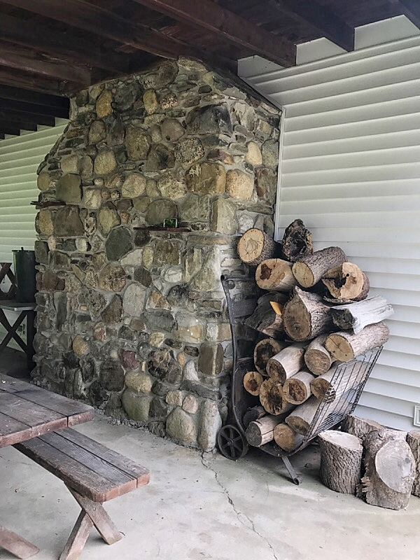 wood stack in naples
