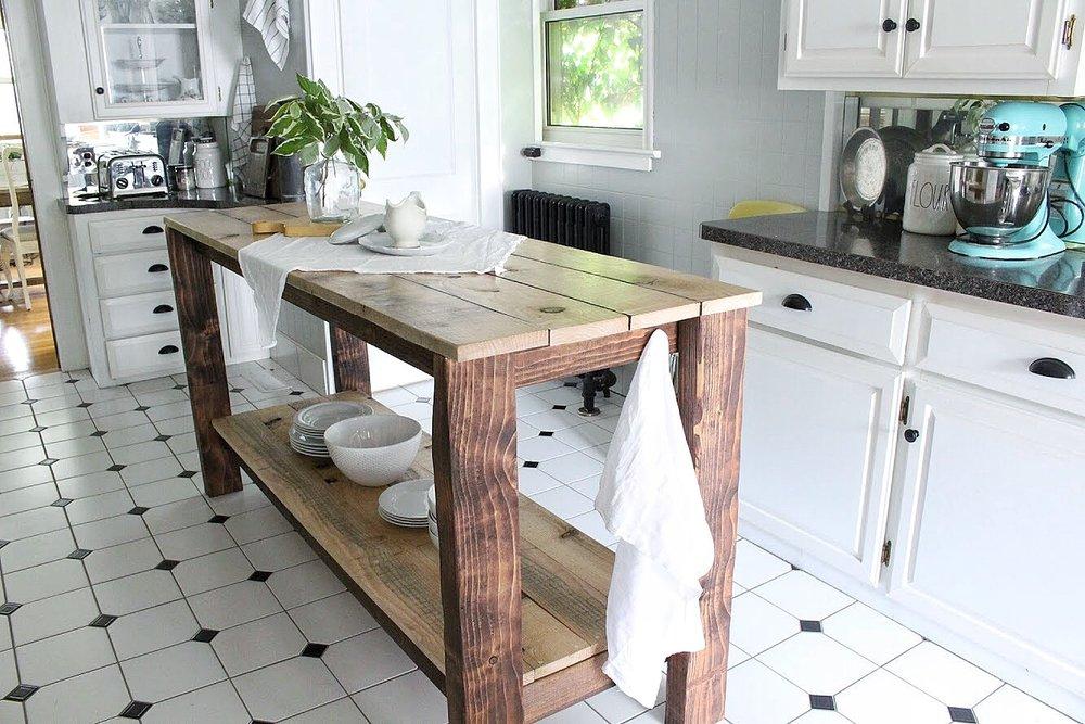 island in the kitchen