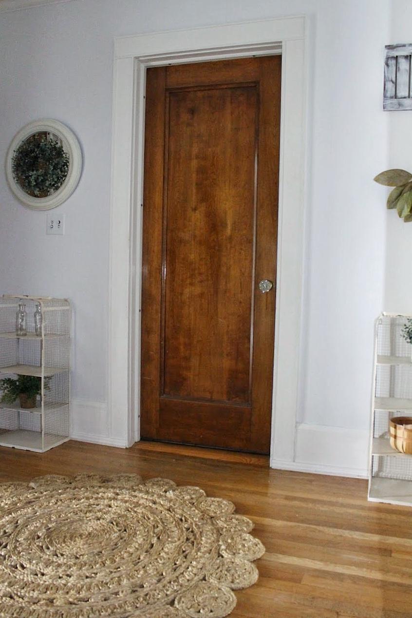 Door in the hallway