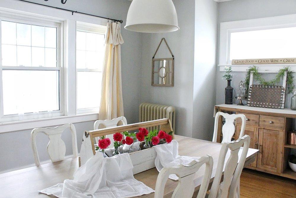 Dining room for summer