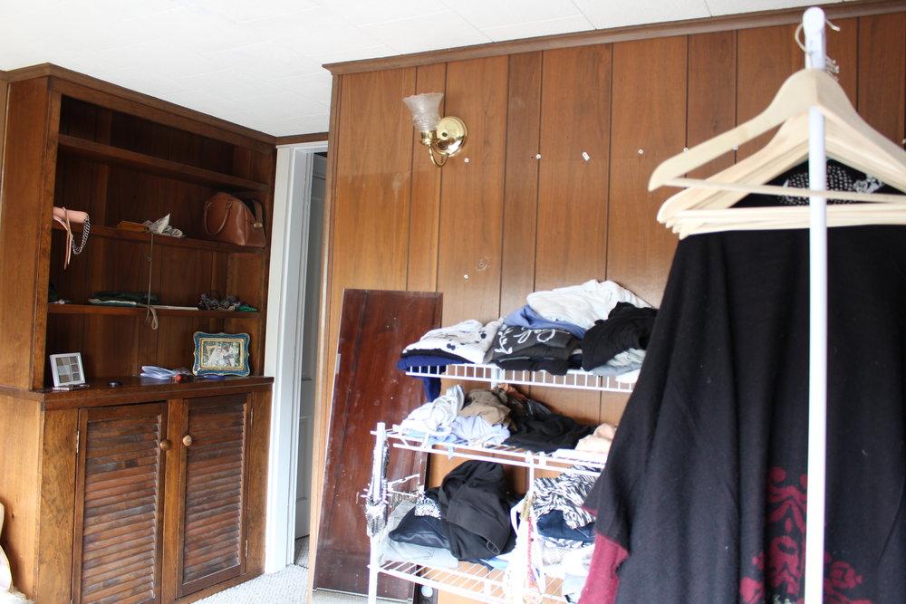 before of closet